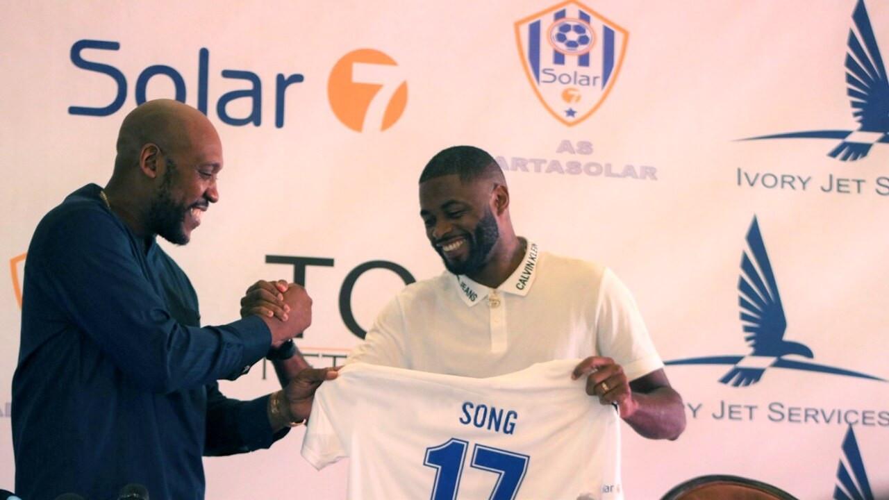 Djibouti : Alexandre Song signe avec As Arta Solar7