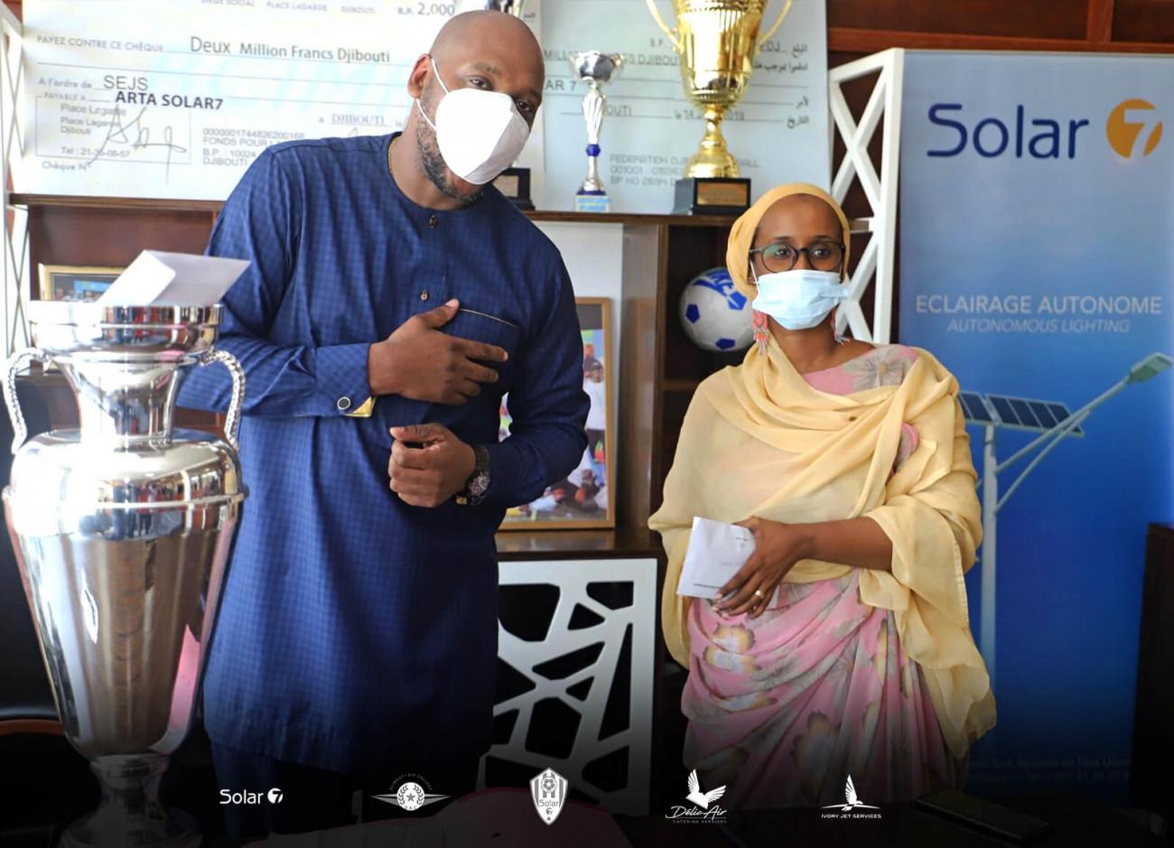 Djibouti : Tommy Tayoro Nyckoss fan As Arta Solar 7