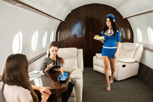 Voyage en Jet privé avec Ivory Jet Services